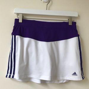 Adidas Tennis Skirt Skort Shorts Climalite